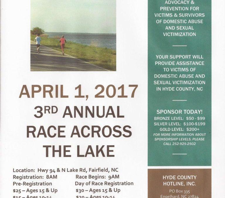 3rd Annual Race Across the Lake 2017